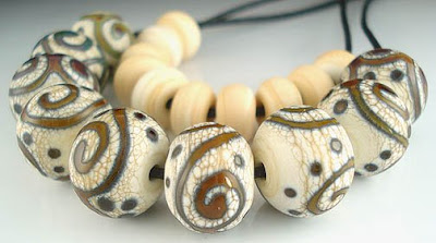 Terra on Dark Ivory Beads