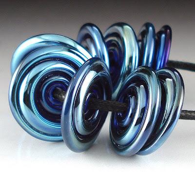 Kronos Spiral Disc Beads