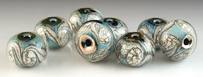 Triton and Ivory Encased Bead Set