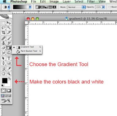 Step 2: Gradient Tool