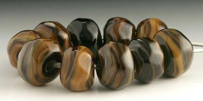 Organic Lampwork Beads