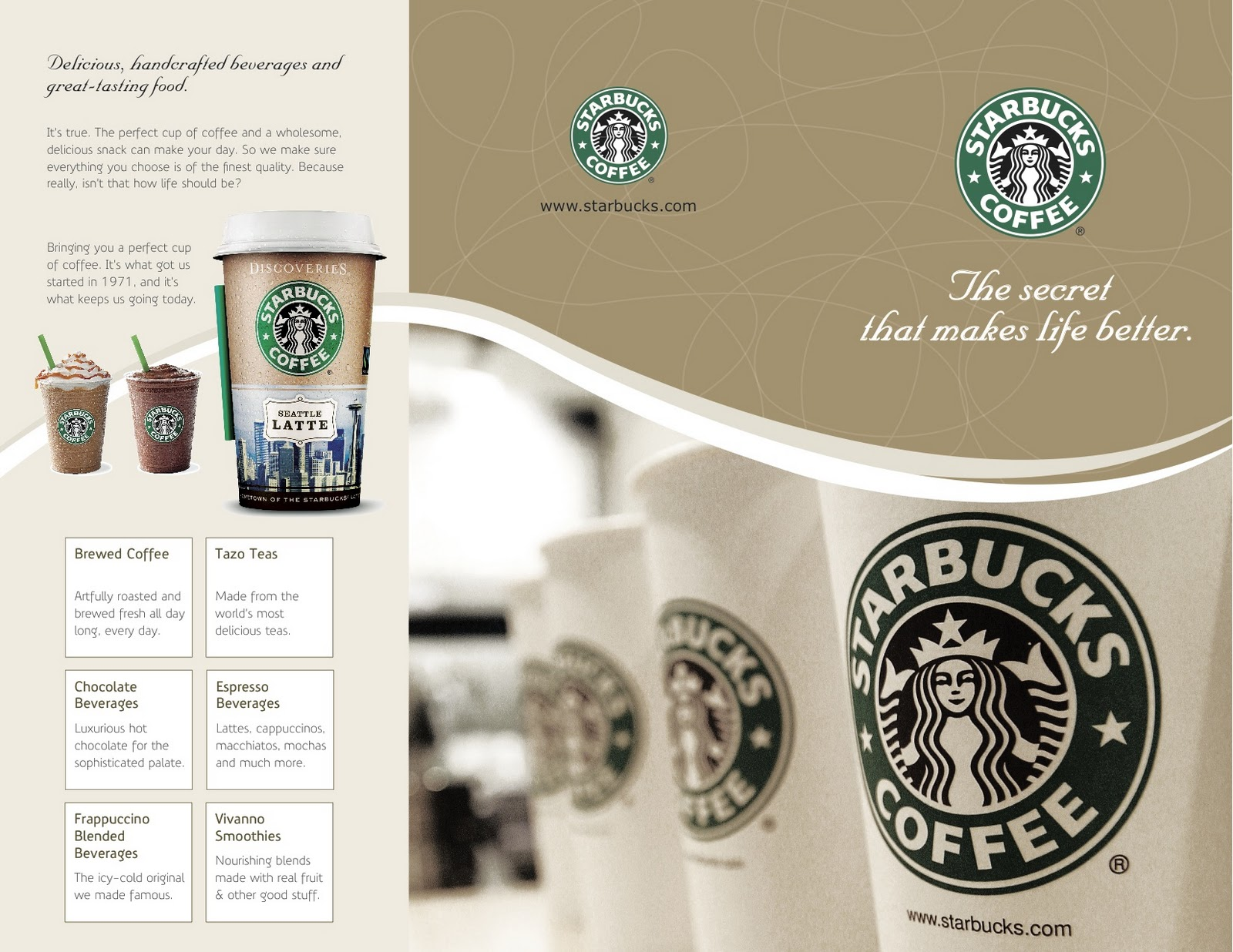 starbucks product mix essay Part a: describe 3 worthwhile (existing or new) consumer segments for your chosen company/product (starbucks), using multiple segmentation variables for each segment.