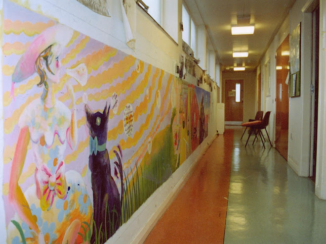 Mural at hospital