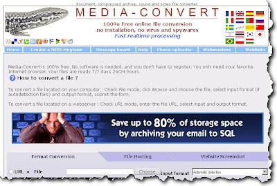 Free Online Converter (Media Convert)