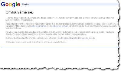 Google Error