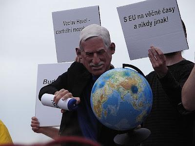 Václav Klaus a globální oteplování