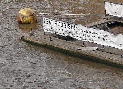 Rubbish in London City