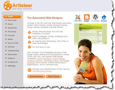 Artisteer - Templates Generator