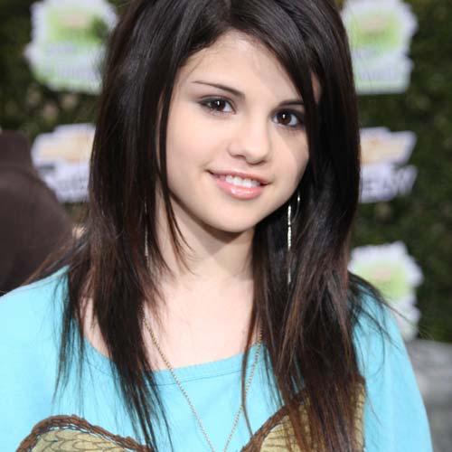 American actress Selena Gomez