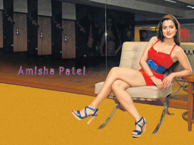 Indian actress Ameesha Patel