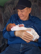 My FIL, Ray, with his first great-grandchild
