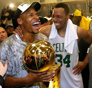 Celtics win 2008 NBA Finals