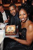 Denzel & Paulette Washington