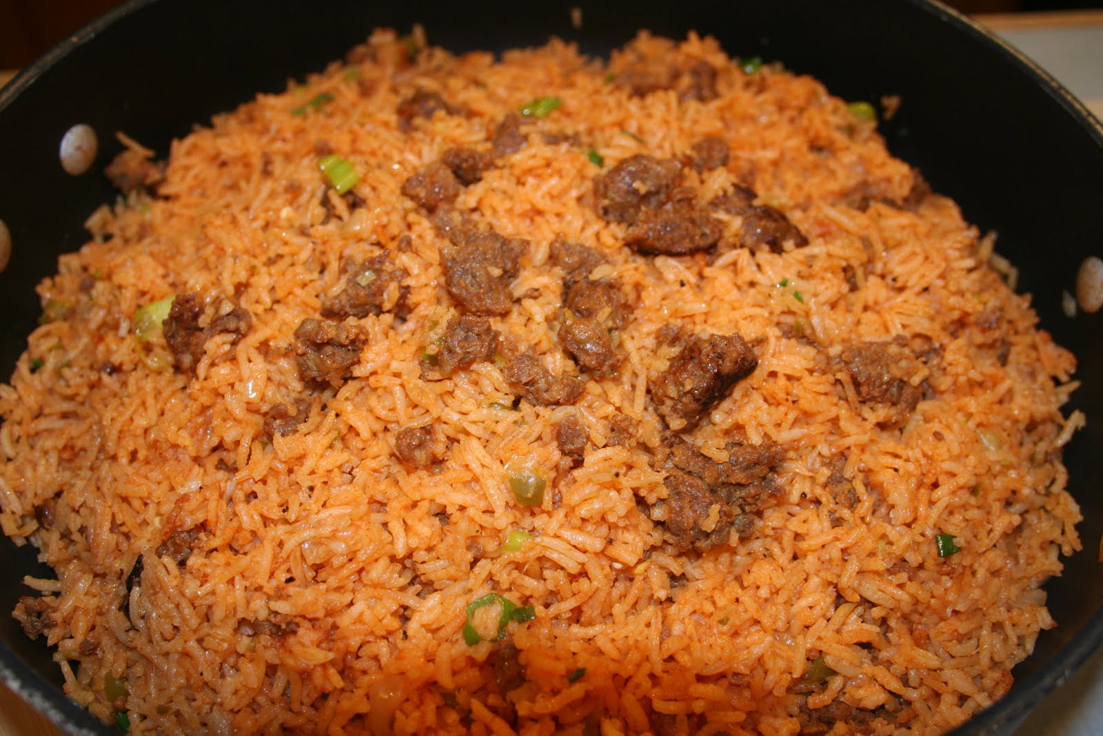 COOK WITH SUSAN: Spicy Chorizo Spanish Rice