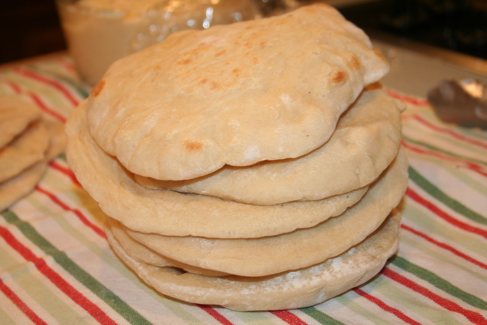COOK WITH SUSAN: Easy Pita Bread