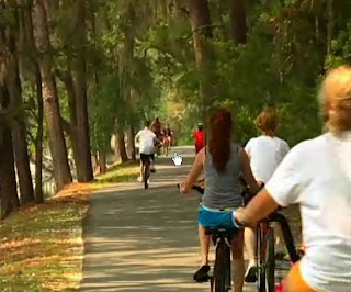 cycle tracks on Hilton Head Island