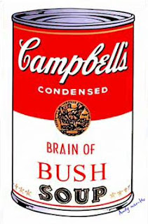 Campbell condensed Brain of Bush soup