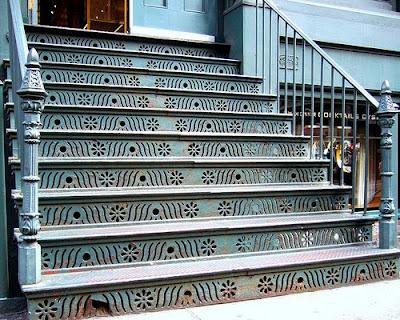 SOHO cast iron stairs