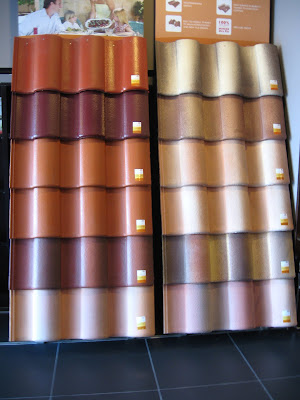Guide to Malaysia: Monier Mediterrano roof tiles colors