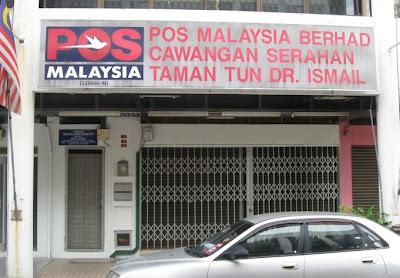Taman Tun Dr Ismail Kuala Lumpur Post Office