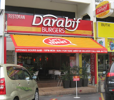 Restoran DaraBif Burgers Uptown Damansara