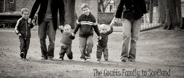 The Coutts Family in Scotland