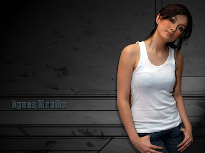 Agnes Monica, Wallpaper, Foto Artis,