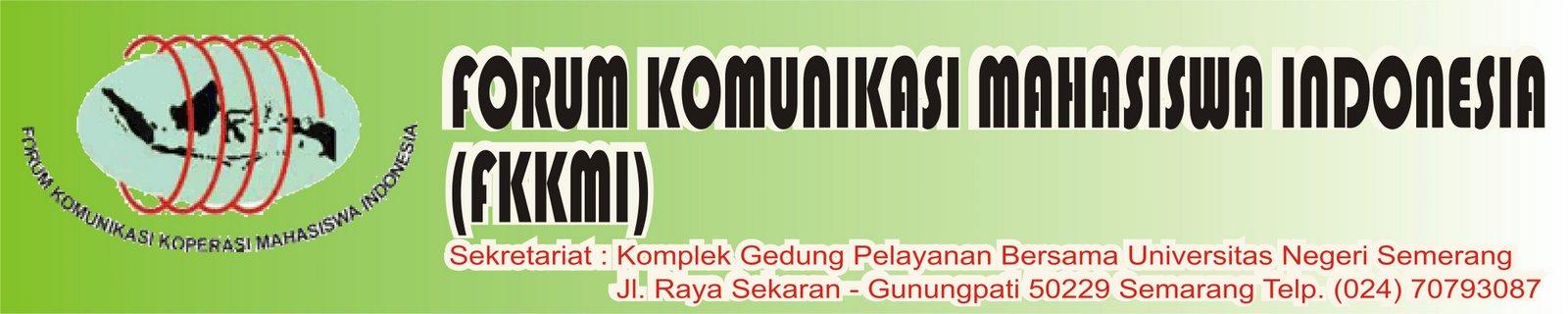 FORUM KOMUNIKASI KOPERASI MAHASISWA INDONESIA
