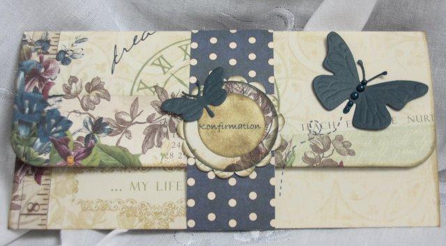 bordkort bryllup sommerfugl