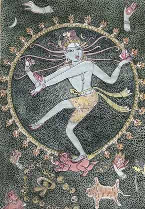 danza cosmica de shiva