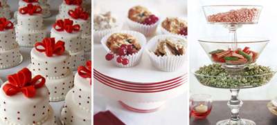 Edible holiday centerpieces