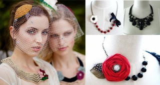 statement jewelry collage