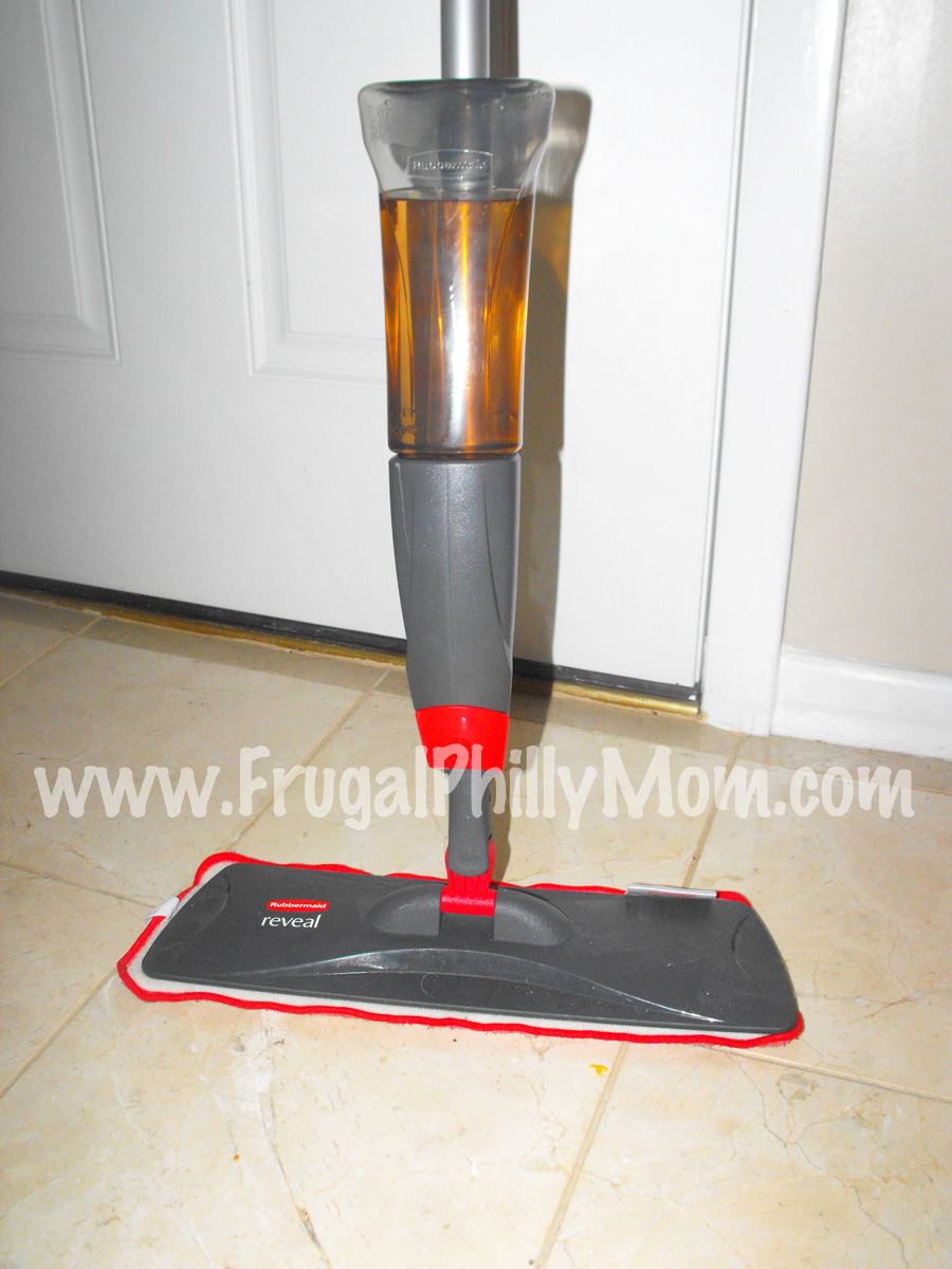 Review Rubbermaid Reveal Spray Mop Frugal Philly Mom