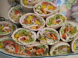Turkey Veggie Wraps