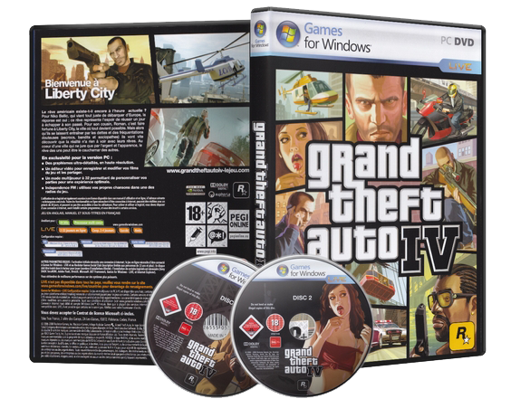 Grand Theft Auto IV Download Games Free for PC