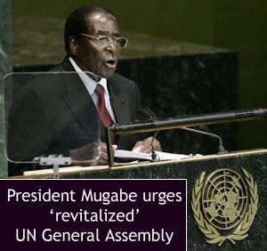 """IS THE NATION OF ZIMBABWE READY FOR THE EARTHLY DEPARTURE OF ITS \"