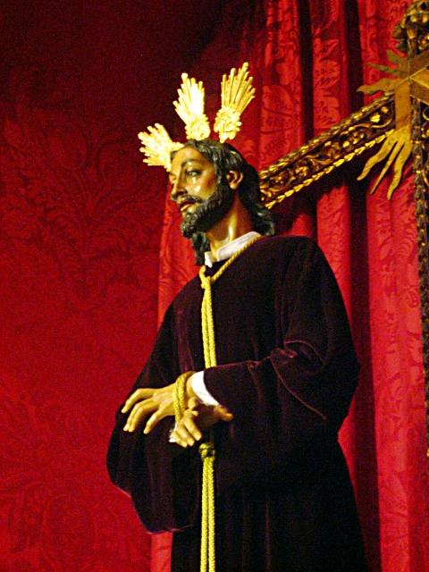 semana santa malaga 2010 nuestro padre jes�s de la sentencia. semana santa malaga 2010