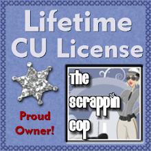 CU License Scrappin' Cop