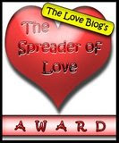 The spreader of love award from Rica