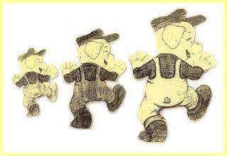 ScannedImage 20 Os Três Porquinhos Construção do Número para crianças