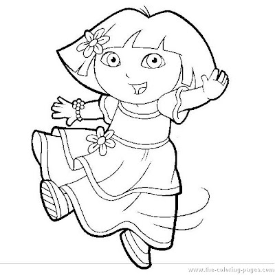 العاب تلوين دورا,Coloring Games dora Dora coloring pages dora-coloring-pages16.jpg