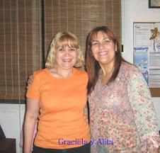 Con mi primer maestra de Reiki: Marcela Alejandra Montes Vázquez