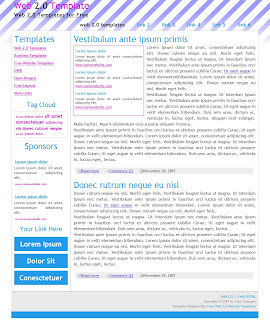 adsense ready web 2.0 template