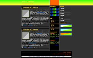 free web 2.0 templates