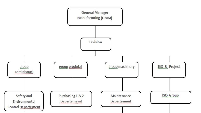 Membuat Contoh Bagan Struktur Organisasi Perusahaan Download Lengkap