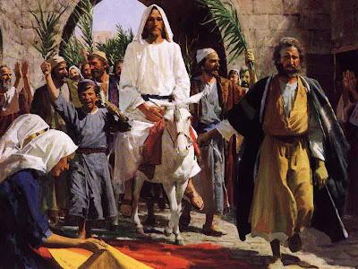 La entrada triunfal de Jesús en Jerusalén DomingoRamos