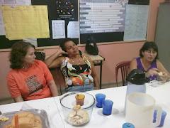 Professoras Fátima Tomé, Suely e Isabel
