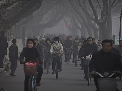 Images Of Air Pollution. China Air Pollution