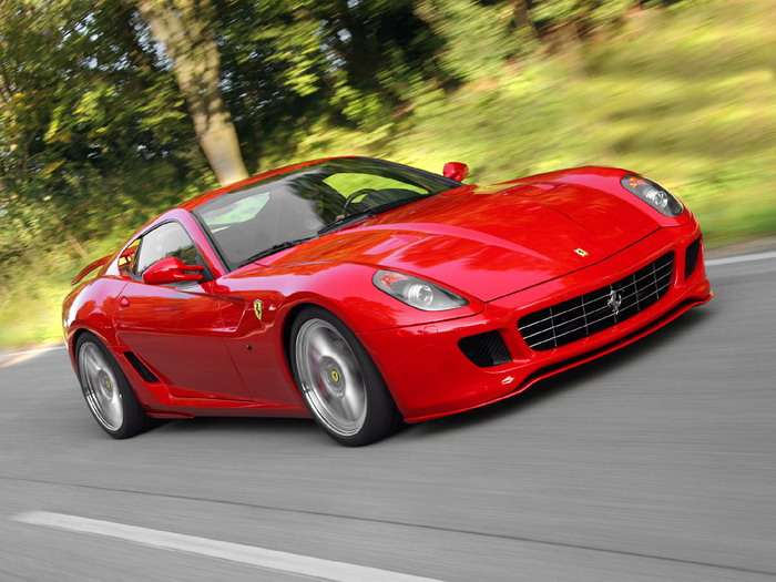 The Ferrari 599 GTB Fiorano