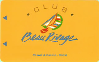 Beau Rivage slot player's club card